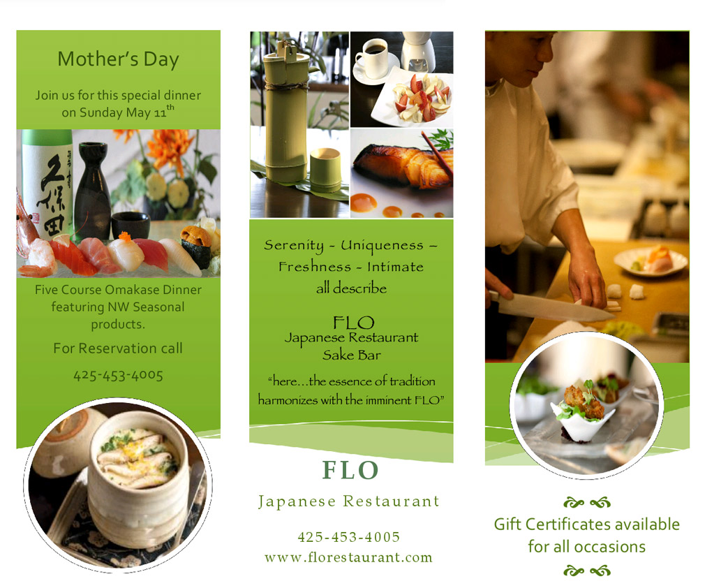 Mothers Day 2014 Flo Japanese Restaurant Sake Bar
