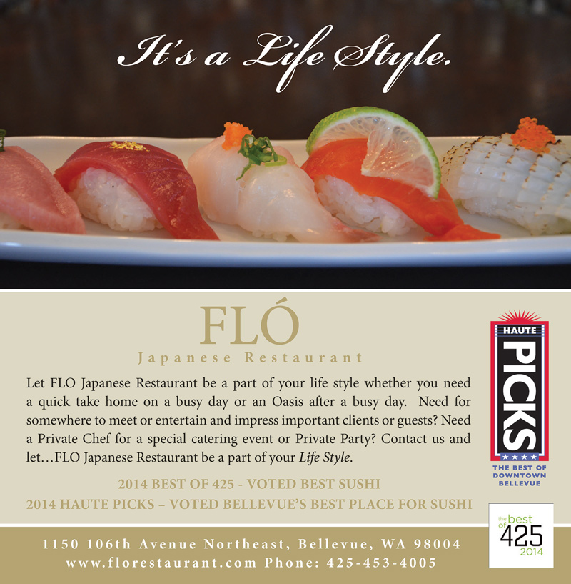 Flo Restaurant in 425Magazine